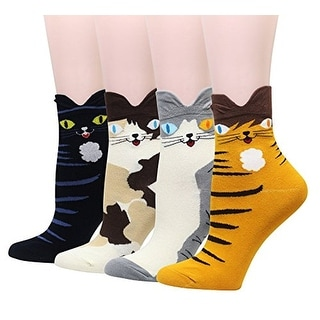 Link to Women's Cute Art Cartoon Colorful Casual Crew Cotton Animal Socks Similar Items in Suits & Suit Separates