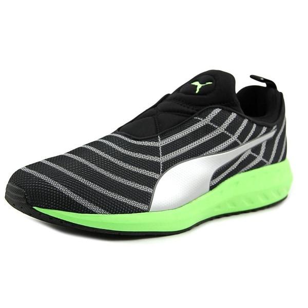 Puma Flare L Men Round Toe Canvas Black Sneakers