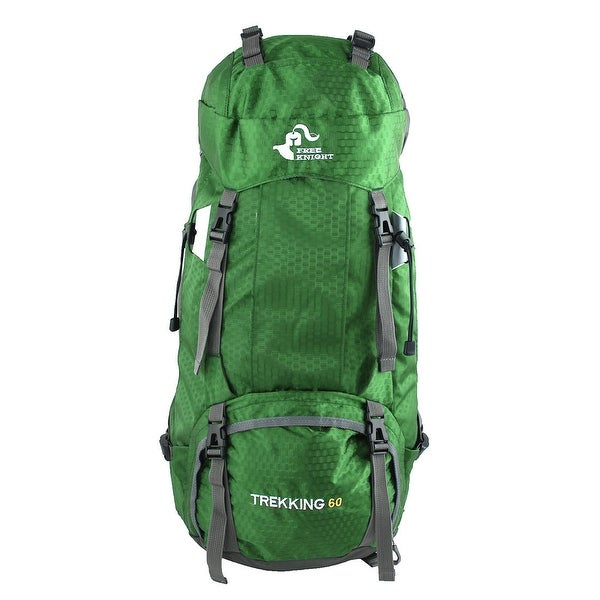 FreeKnight Authorized Outdoor Camping Bag Trekking Hiking Backpack Green 60L