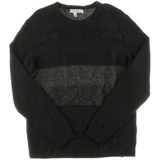 Calvin Klein Mens Wool Blend Knit Crewneck Sweater
