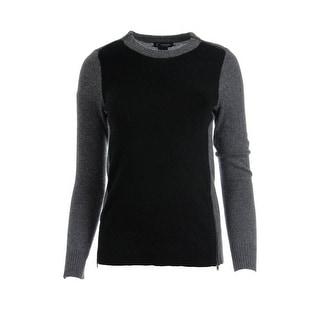 Private Label Womens Cashmere Colorblock Sweater - M