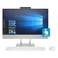 "Refurbished - HP Pavilion 24-x026 23.8"" Touch AIO Desktop AMD A12-9730 2.8GHz 8GB 1TB W10"