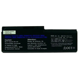 Battery for Toshiba PA3536U-1BRS Laptop Battery