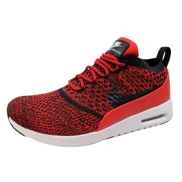 Nike Women's Air Max Thea Ultra Flyknit University Red/Black-White 881175-601