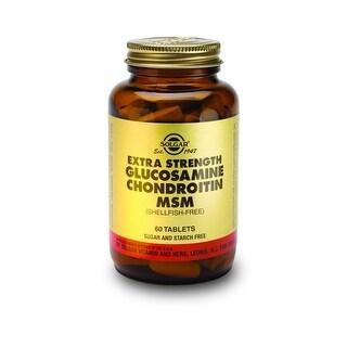 Solgar Triple Strength Glucosamine Chondroitin MSM (Shellfish-Free) Tablets 60