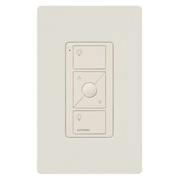 Lutron Caseta Wireless Pico Remote Control with Wall-Mounting Kit (White)