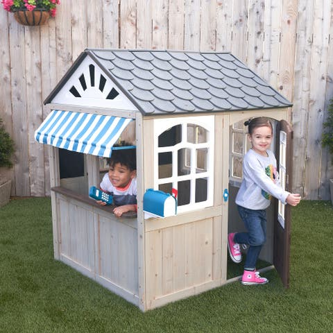 Hillcrest Wooden Outdoor Playhouse