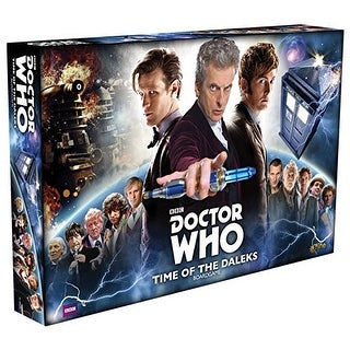 Dr. Who Time Of The Daleks Board Game