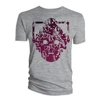 Doctor Who: Cyberman Faces Head Mens T-Shirt