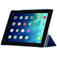 i-Blason, iPadMini 2 Case, I-Folio Slim Hard Shell Stand Case Cover for Apple iPad Mini with Retina Display Case-Blue