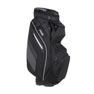 New Ping 2018 Pioneer Golf Cart Bag (Black) - Black