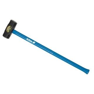 "Jackson 1199300 10-Pound Double Faced Sledge Hammer, 36"" Fiberglass Handle"