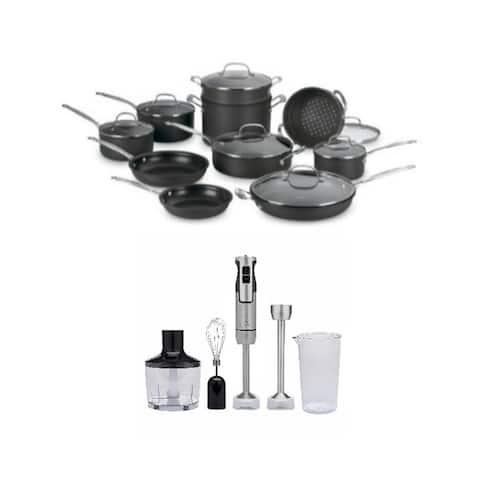 Cuisinart 66-17 Chefs Nonstick 17-Pc Cookware Set & Blender
