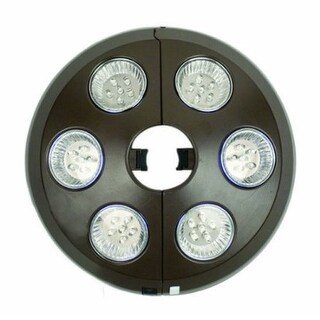 NU5515 6 Light Bronze Umbrella Light
