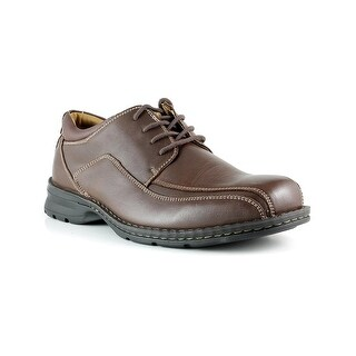 Dockers Mens Trustee Leather Lace-Up Oxford Casual Dress Shoe