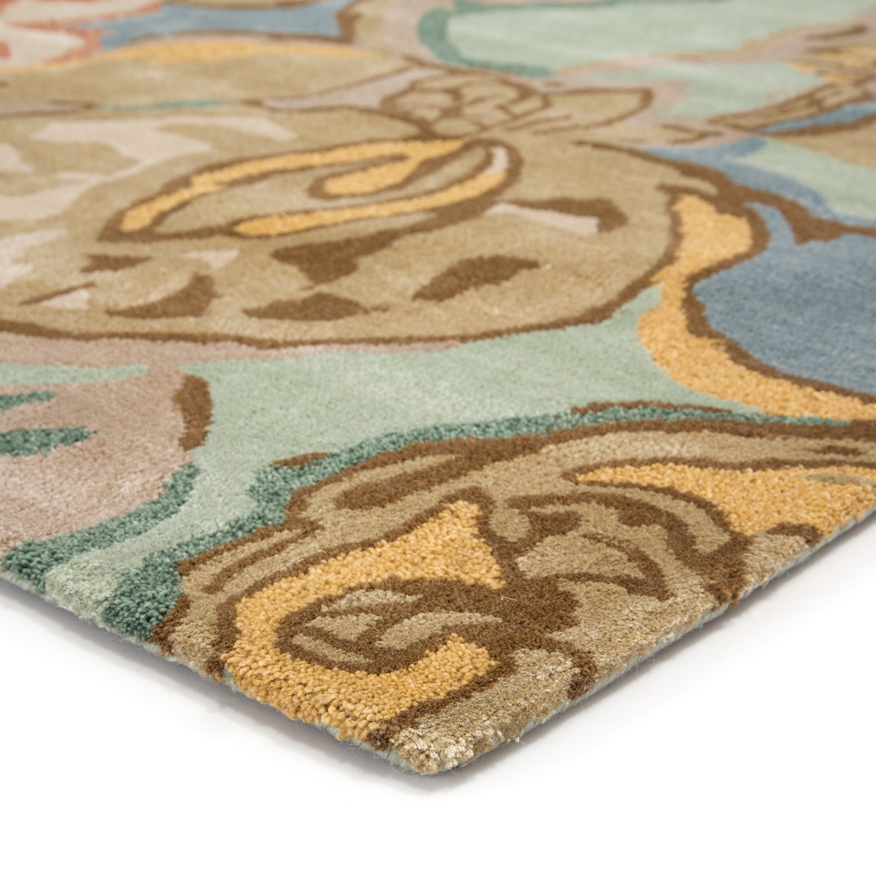 Clemente Handmade Floral Area Rug On Sale Overstock 8572209