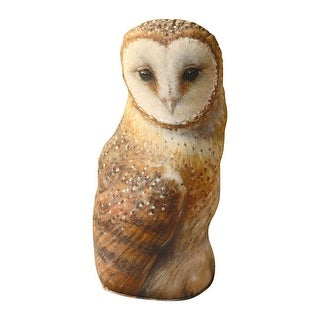 "Fiddler's Elbow Woodland Creature Doorstop, Rabbit/Hare or Owl - Soft Sided, Weighted Base, 17"" Tall - 4 in. x 7 in. x 17 in."