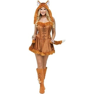 Foxy Lady Costume - Orange