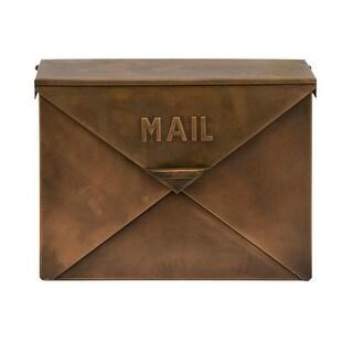 IMAX Home 44090 Tauba Copper Finish Mail Box