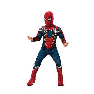 Boys Deluxe Infinity War Spiderman Costume