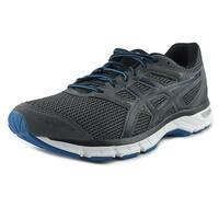 Asics Gel Excite 4 Men Carbon/Black/Electric Blue Sneakers Shoes