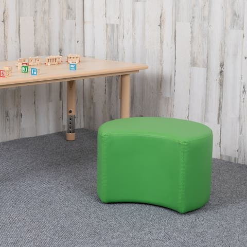 """Soft Seating Collaborative Moon for Classrooms - 12"""" Seat Height"""