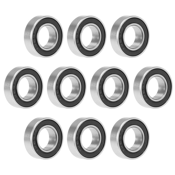 689-2RS Deep Groove Ball Bearing 9x17x5mm Double Sealed GCr15 Bearings 10pcs - Pack of 10 - 689-2RS (9*17*5)
