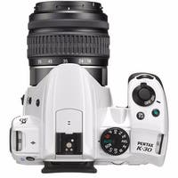 Pentax K30 DSLR Camera with 18-55mm (White)