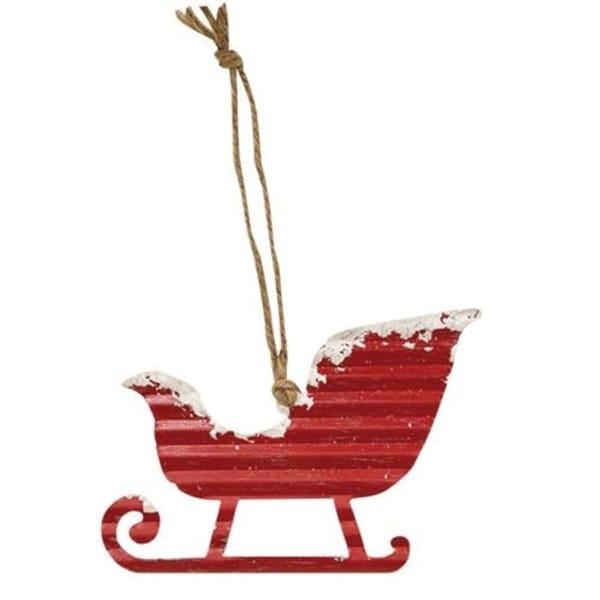 Sadie's Sled Ornament