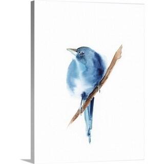 """""""Blue Bird III"""" Canvas Wall Art"""