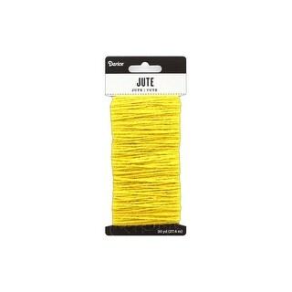 30029499 Darice Jute Yellow 30yd