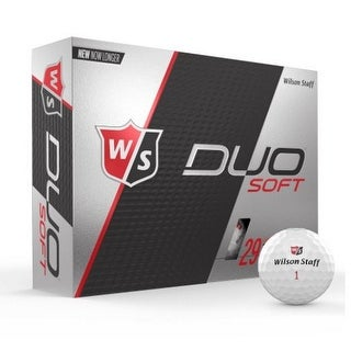 Wilson Duo Soft Golf Balls 12 Pack 2-piece 29 Compression Golfing WGWP4