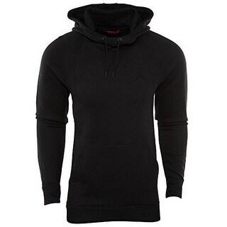 Nike Mens Wings Fleece Po, Black/Black, L