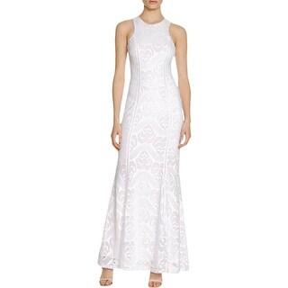 Guess Womens Maxi Dress Lace Sleeveless - m