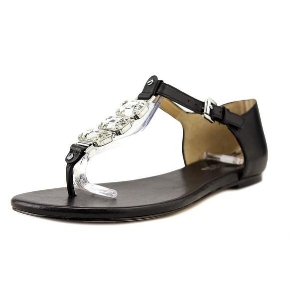 Michael Michael Kors Leslie Women Round Toe Leather Black Knee High Boot