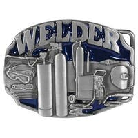 Enameled Welder Belt Buckle