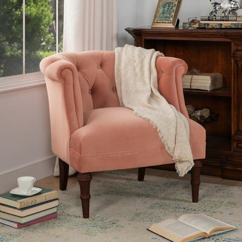 Carson Carrington Sofia Tufted Contemporary Accent Chair