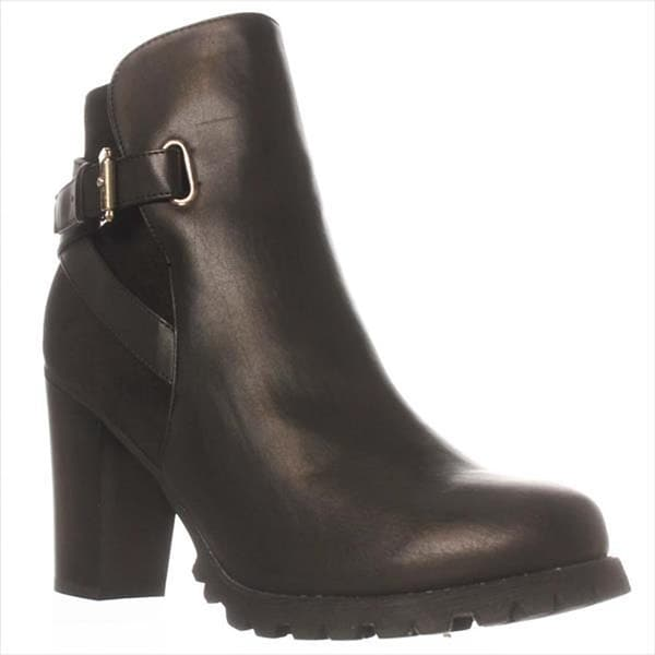 JFab Blanche Ankle Boots - Black