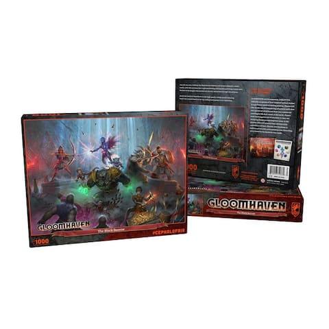 Gloomhaven Puzzle - The Black Barrow (1000pc)