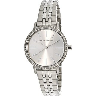 Armani Exchange Women's AX5541 Silver Stainless-Steel Fashion Watch