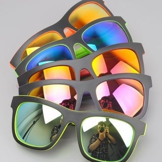 Double Color Coated Sunglasses