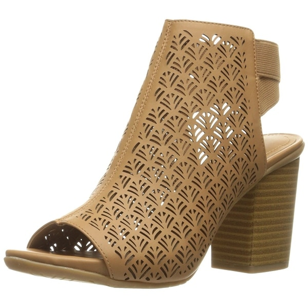 Kenneth Cole Reaction Womens Fridah Fly 2 Peep Toe Casual Mule Sandals