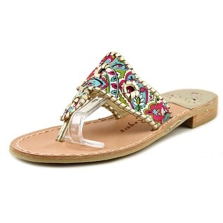 Jack Rogers Dania Women Open Toe Synthetic Multi Color Sandals