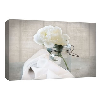 "PTM Images 9-148249  PTM Canvas Collection 8"" x 10"" - ""Mason Jar Bloom I"" Giclee Flowers Art Print on Canvas"