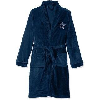 Dallas Cowboys Silk Touch Bath Robe, Large/X-Large - multi
