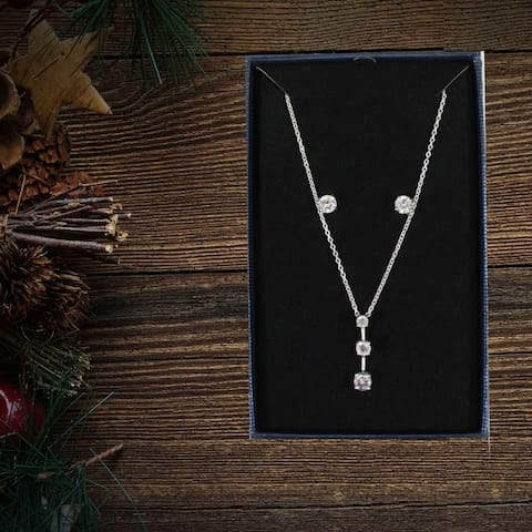 3 Piece Necklace and Earring Collection - Gift Set