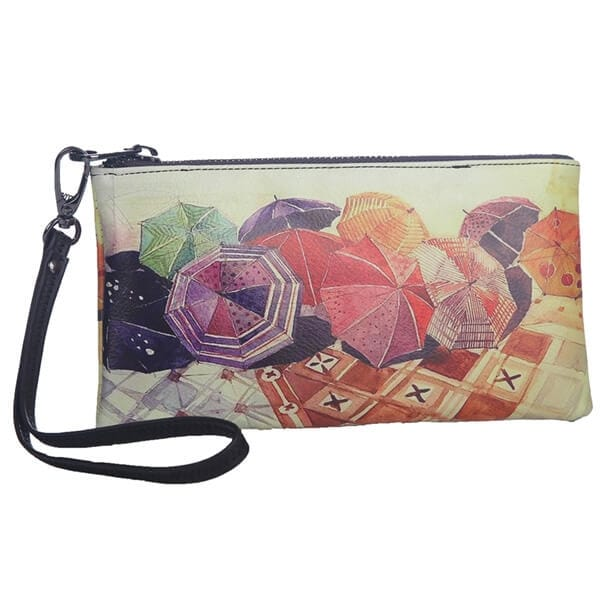 Mad Style Dance in the Rain Art Zipper Case - Multi