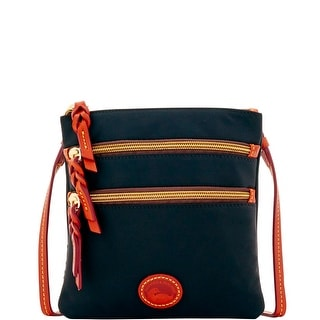 Dooney & Bourke Nylon North South Triple Zip (Introduced by Dooney & Bourke at $88 in Feb 2017) - Black