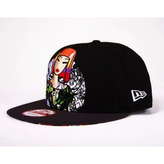 Tokidoki Men's Snapback Hat: Spotlight - Black