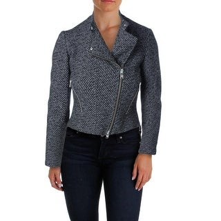 Theory Womens Kinde Jacket Knit Cropped